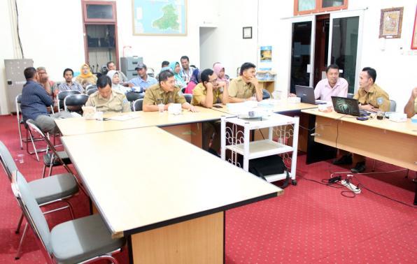 foto: konsolidasi terhadap Penanganan Pencegahan dan Peningkatan Kualitas Perumahan dan Permukiman Kumuh Perkotaan Kabupaten Bangka Barat Tahun 2019